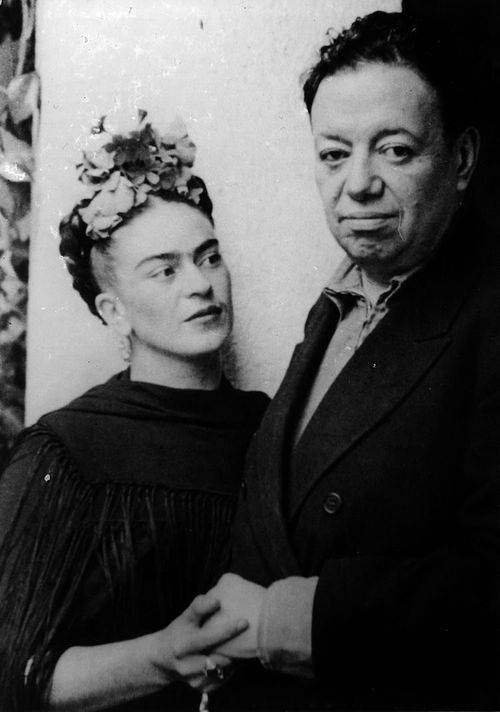 Frida Kahlo and Diego Rivera by Nickolas Muray, 1940